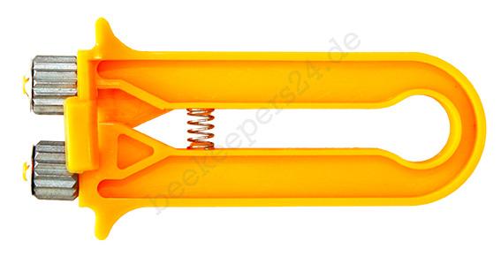 Wabendrahtspanner, gelb