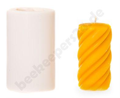 Kerzen-Gießform Strukturkerze
