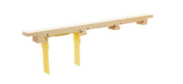 Trägerleiste Zander für Apidea® Rähmchen