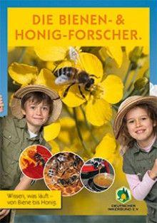 """Kinderbroschüre """"Die Bienen- und Honig-Forscher"""""""