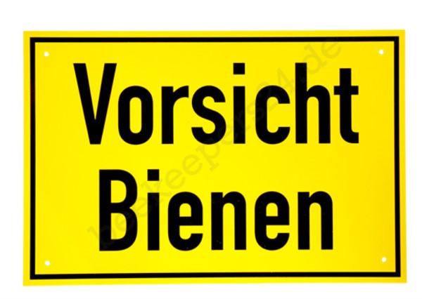 """Warnschild """"Vorsicht Bienen"""", 30 x 20 cm"""