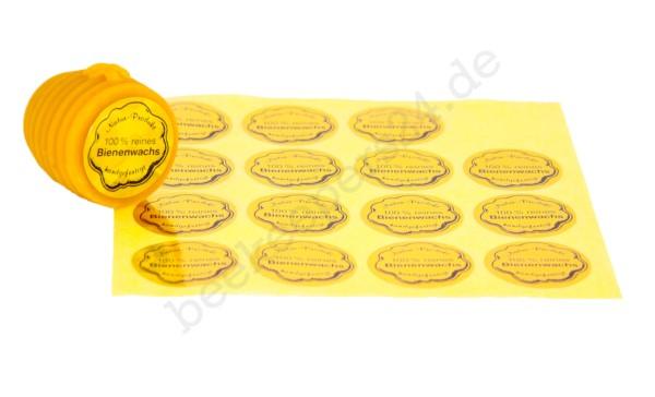 Gold-Etikett rund, Ø 32 mm