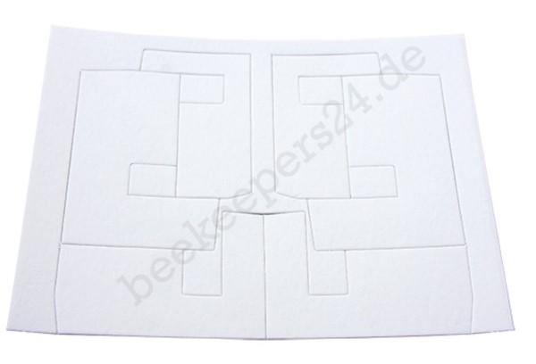 Ersatz-U-Dochte, Karte mit 6 Dochten in 3 Größen