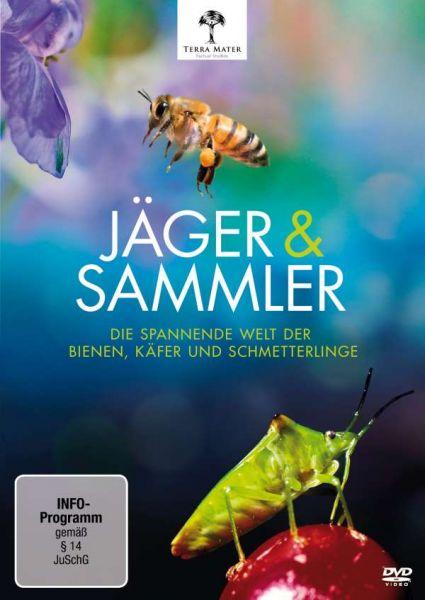 DVD - Jäger und Sammler: Die spannende Welt der Bienen, Käfer und Schmetterlinge