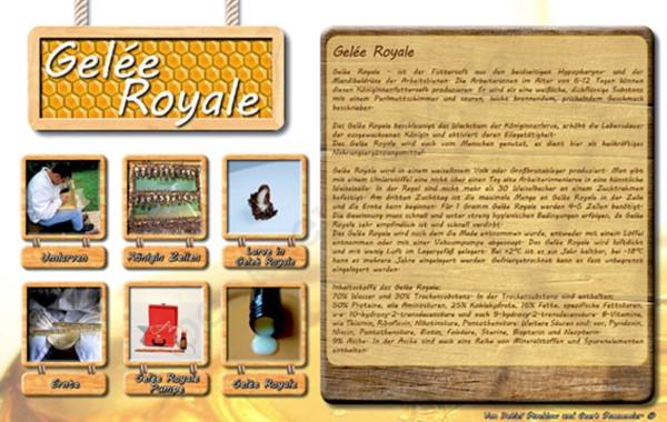 """Werbetafel """"Gelée Royal"""""""
