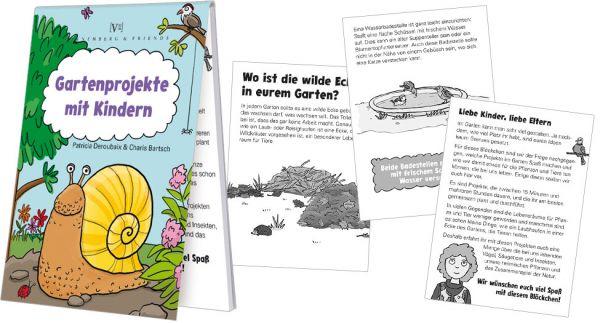 """Blöckchen """"Gartenprojekte mit Kindern"""""""