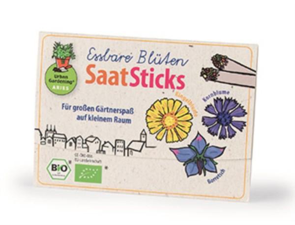 Urban Gardening® SaatSticks Essbare Blüten