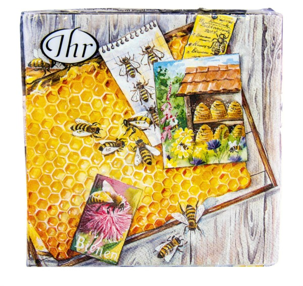 """Servietten """"Homemade Honey"""", 20 Stück"""