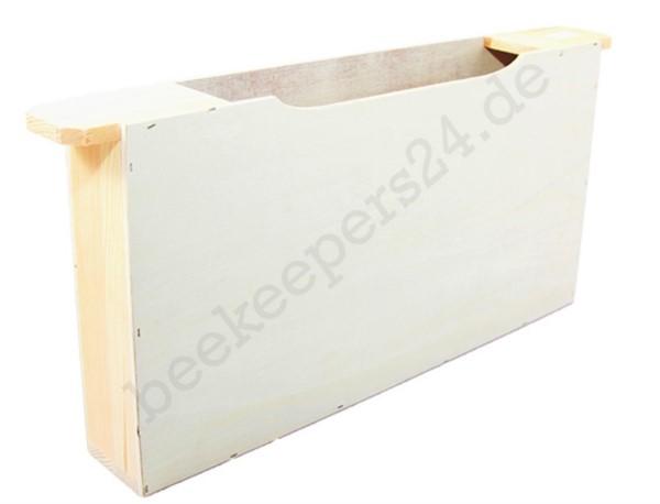 Holz-Futtertasche DNM, doppelte Wabenbreite