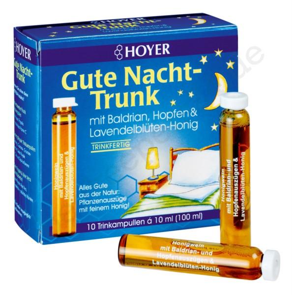 Gute Nacht-Trunk, 10 Trinkampullen á 10 ml (100 ml), Bio