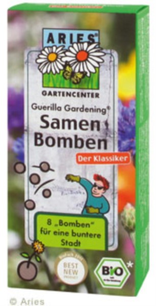"Guerilla Gardening® Samenbomben ""Klassikermischung"