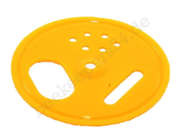 Fluglochrosette gelb, Ø 50 mm