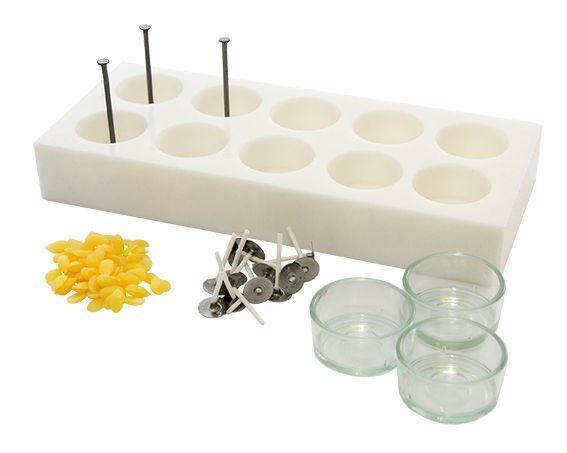 Kerzengieß-Set Teelichter