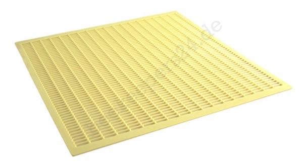 Kunststoff-Absperrgitter gelb, Liebig-Beute
