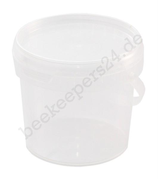 Mini-Eimer transparent, 365 ml