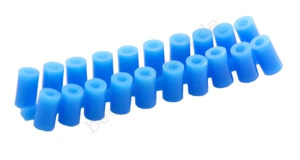 Abstandsröllchenk, blau, 100 Stück