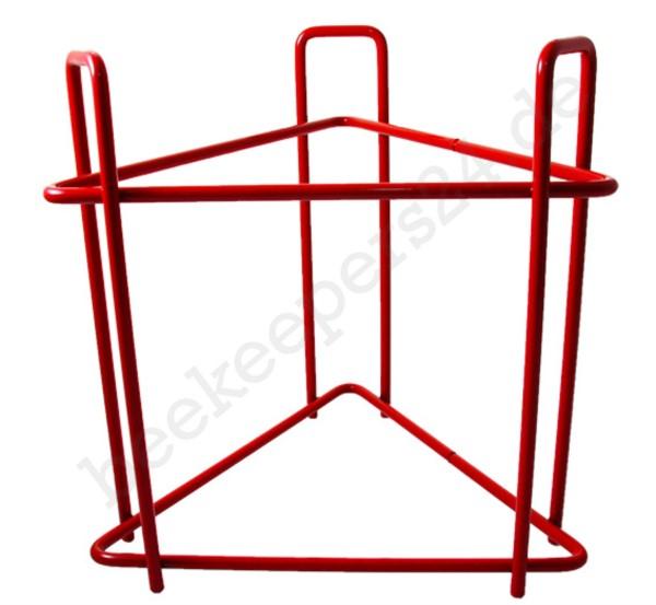 Ständer für Abfüllbehälter bis 100 kg, rot lackiert