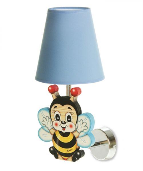 Wandlampe Biene