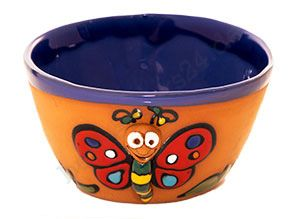 Kermamik-Schale, Motiv Schmetterling