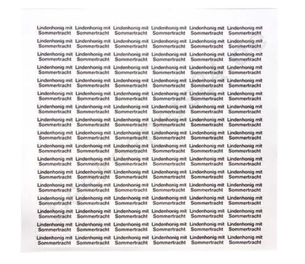 """Sortenetikett """"Linde mit Sommertracht"""", 102 Stück"""