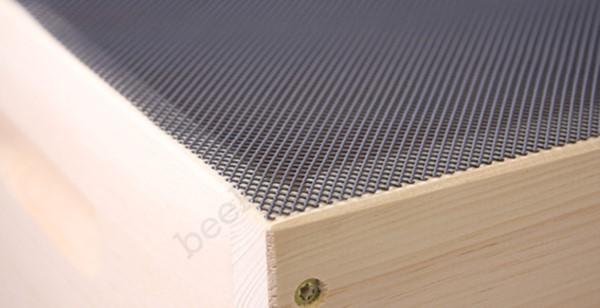 Kunststoffgewebe grau, 12,5 x 1 m