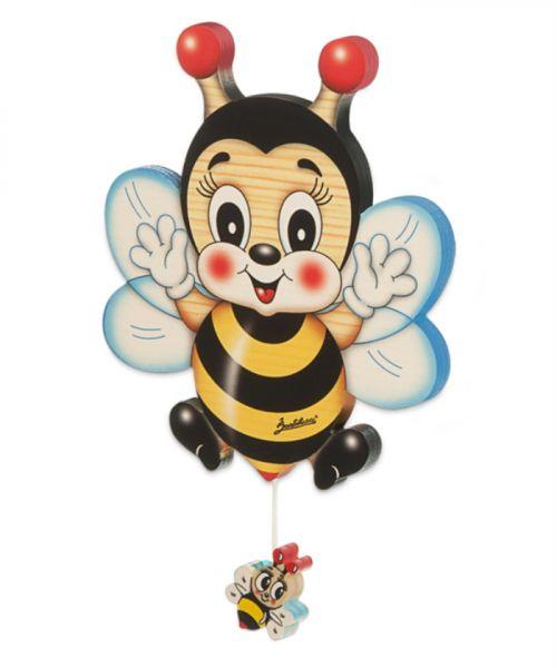 Wand-Spieluhr Biene klein