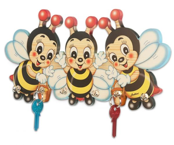 Schlüsselbrett Bienen