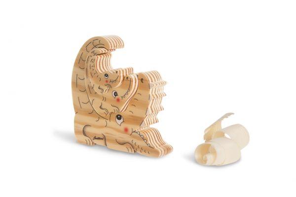 Holz-Steckspiel Krokodile