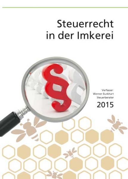 Burkhart, Steuerrecht in der Imkerei 2015/2016