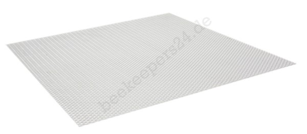 Alu-Lüftungsgitter, Universalgröße 500 x 500 mm