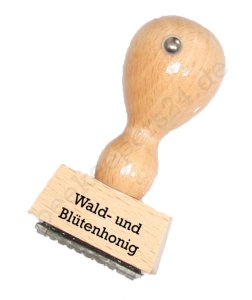 """Sortenstempel """"Wald- + Blütenhonig"""""""