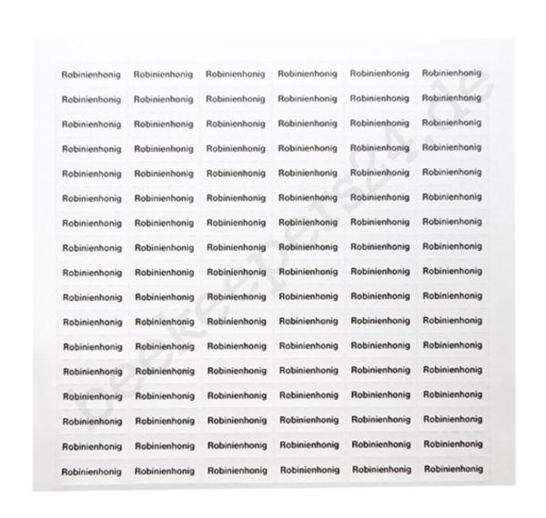 "Sortenetikett ""Robinienhonig"", 102 Stück"