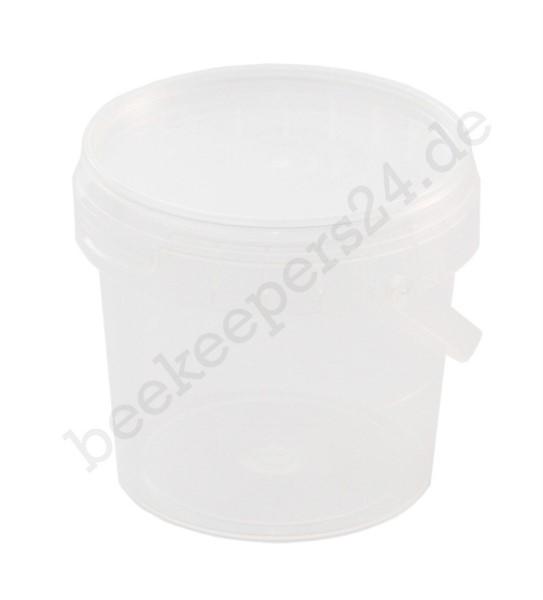 Mini-Eimer transparent, 190 ml