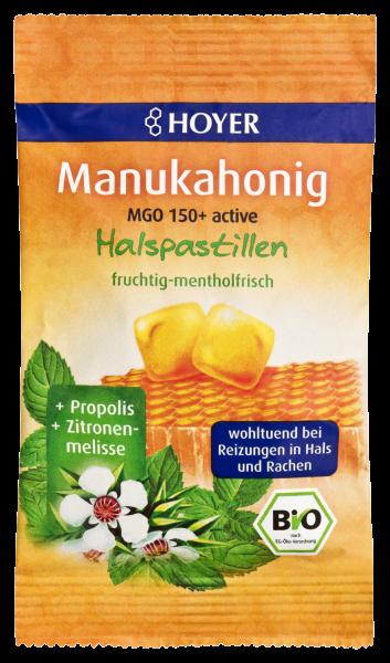 Manukahonig Halspastillen MGO 150+ active, 30 g