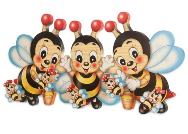 Garderobe Bienen