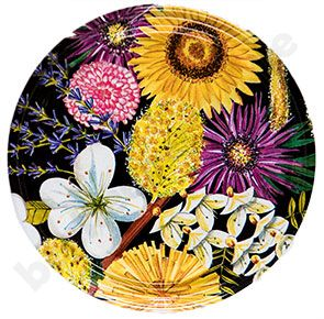 TO-Deckel 82 mm, Blüten