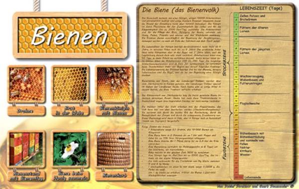 "Werbetafel ""Bienen"""