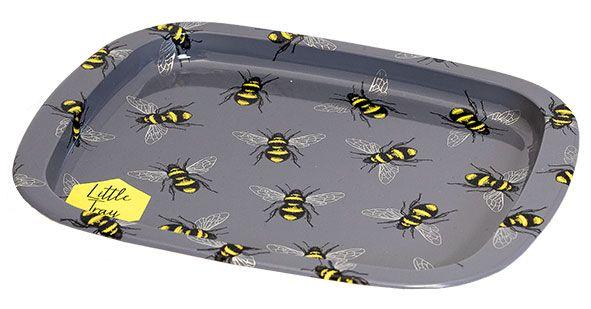 Mini-Tablett mit Bienenmotiv