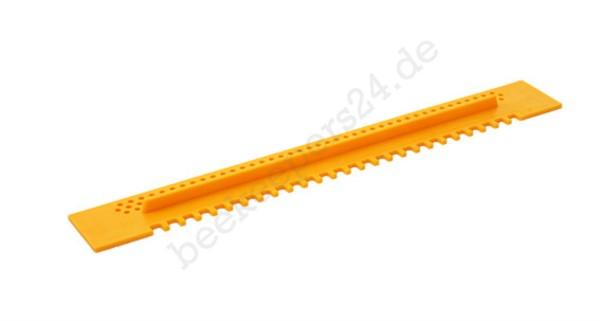 Fluglochschieber Kunststoff, gelb