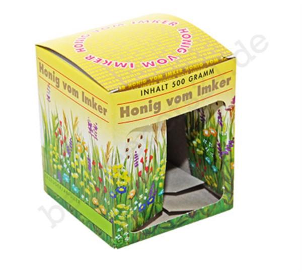 Geschenkkarton Blumenwiese, 1 x 500g