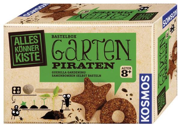 Bastelbox Garten-Piraten