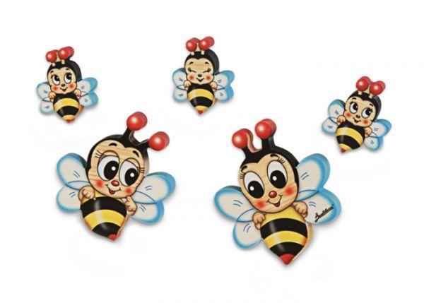Bienenfamilie Holz